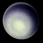 Picture of the planet Uranus